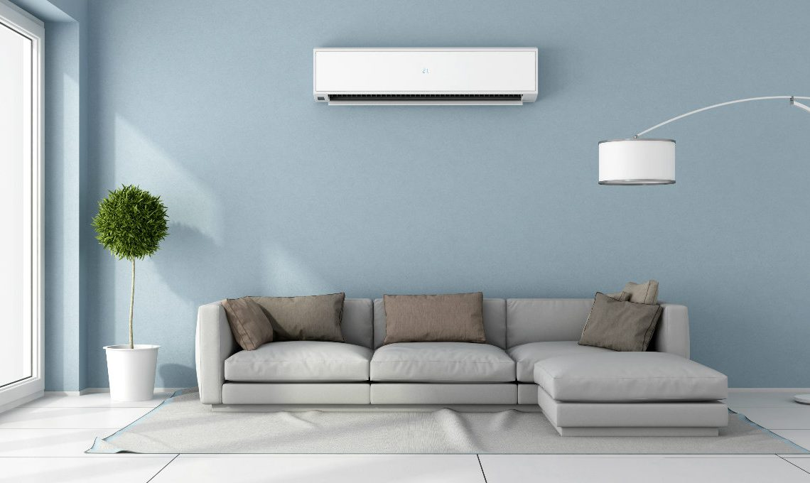 climatizzatore da parete salotto