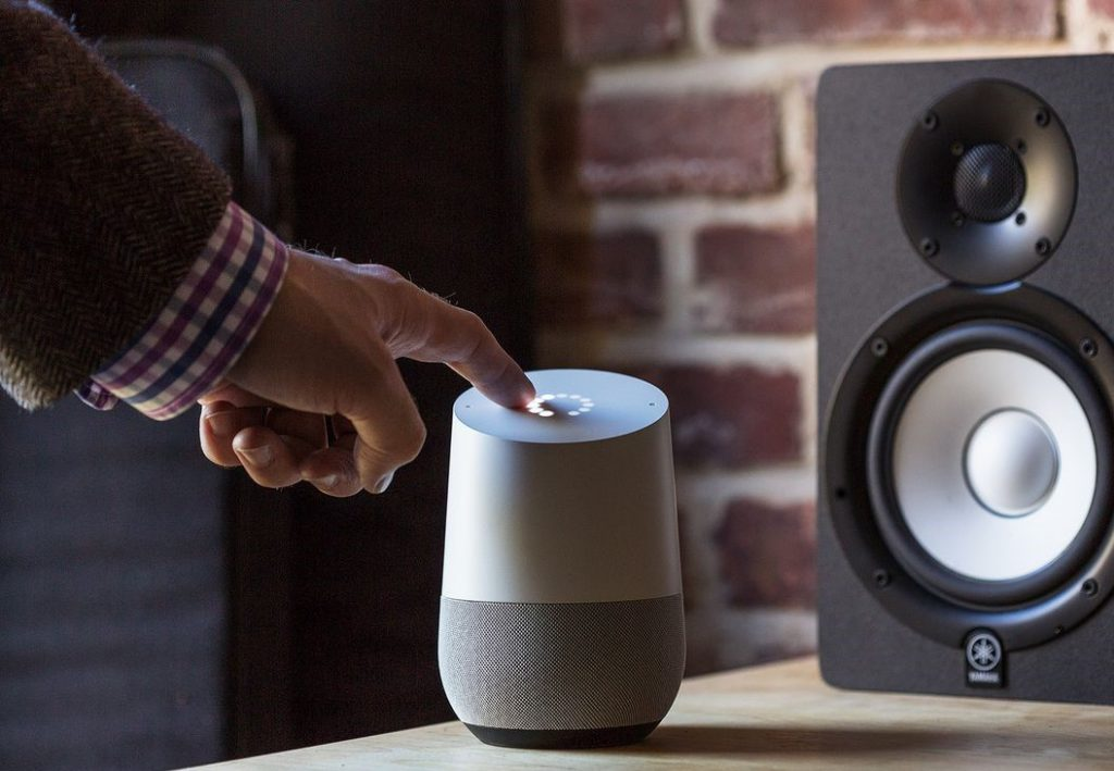 smart speaker google