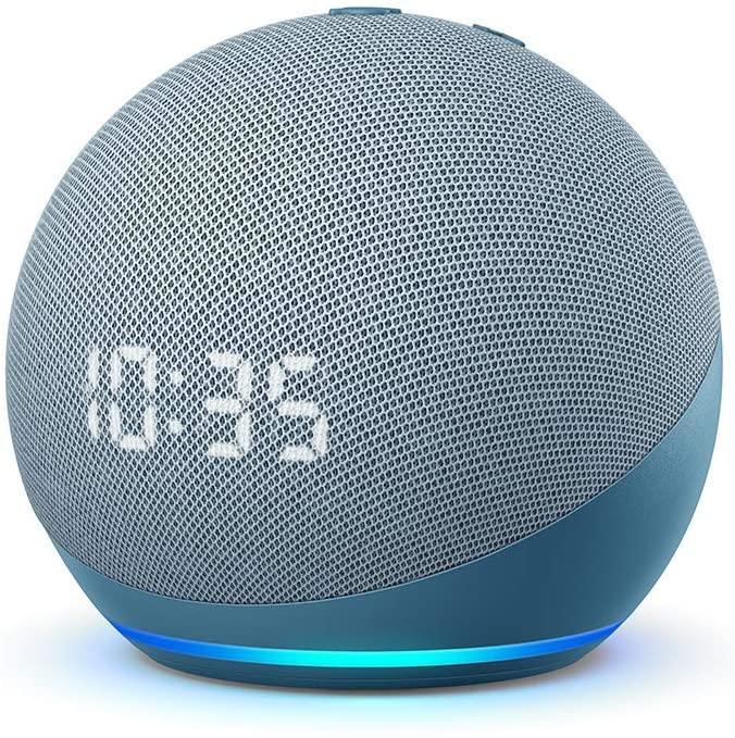 La foto del Nuovo Echo Dot di 4ª generazione, un prodotto per la domotica e smart home