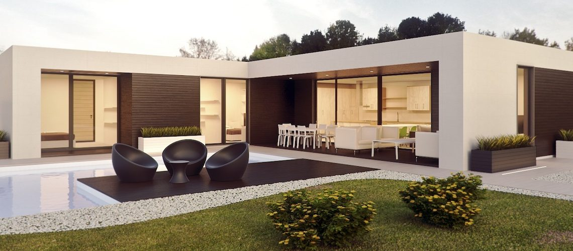 casa con domotica - smart house