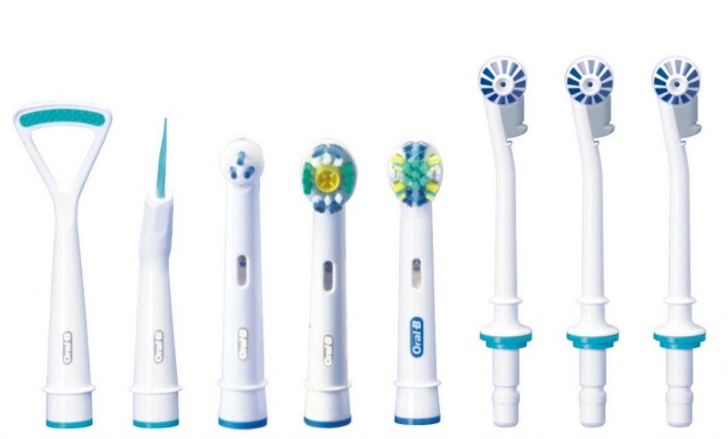 guida acquisto spazzolino elettrico - le testine
