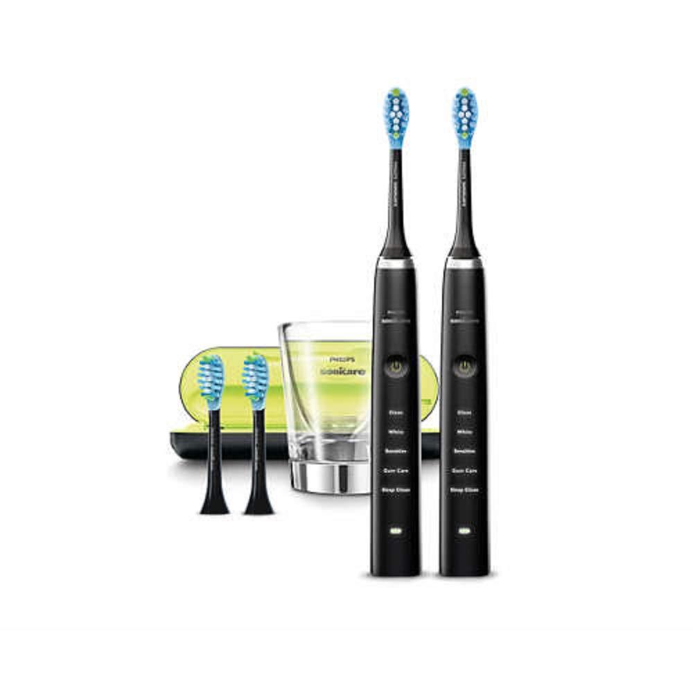 migliori spazzoli elettrici - Philips Sonicare HX9354 38 DiamondClean Spazzolino Elettrico con Tecnologia Sonicare