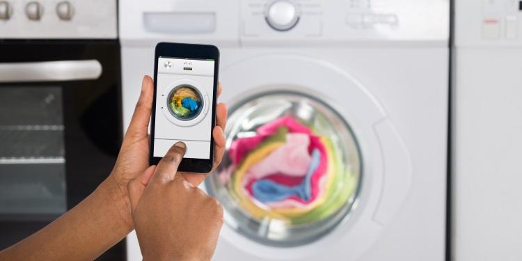 lavatrice con app per smartphone