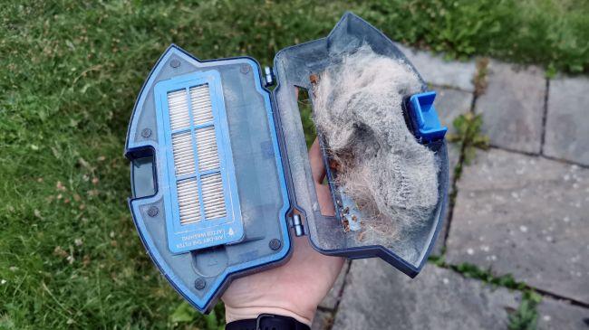 contenitore sporco eufy robovac 15c filtro