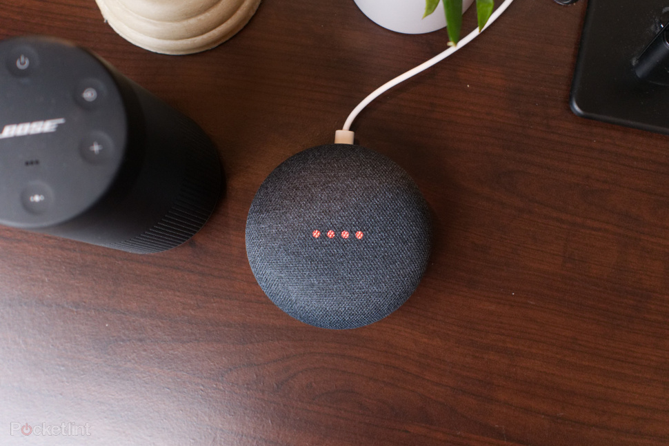 Un dispositivo Google Home