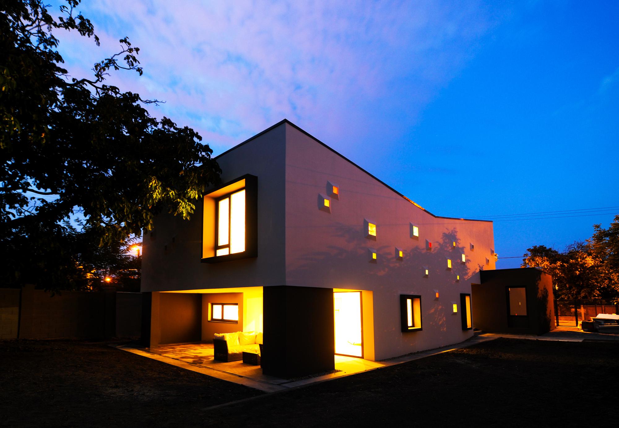 Una casa illuminata