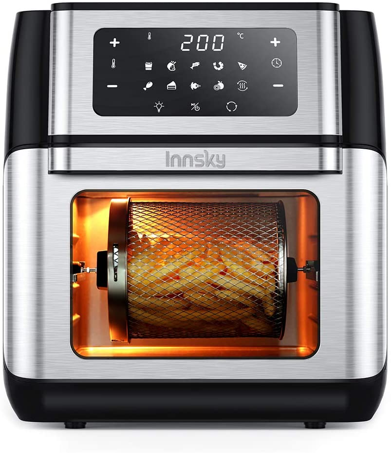 Innsky Friggitrice ad aria 10 Litri - friggitrice per famiglie