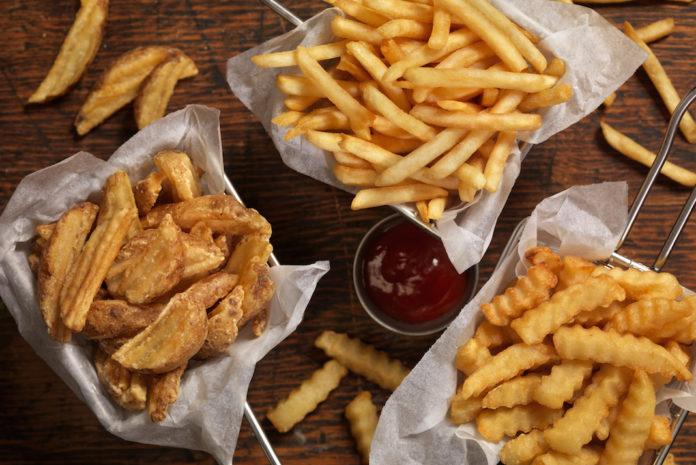 Alcuni cibi fritti