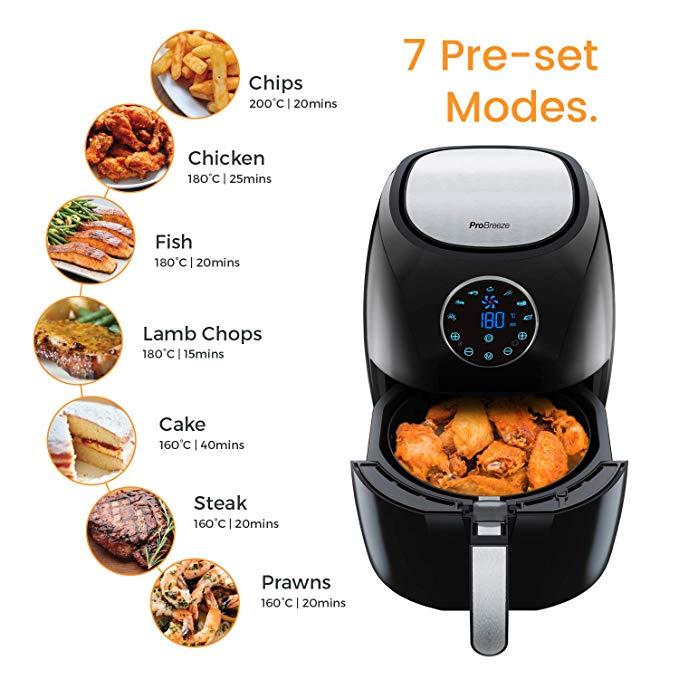 La friggitrice ad aria Pro Breeze Friggitrice ad Aria XL
