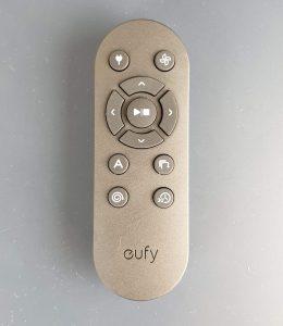 recensione eufy robovac 30c - telecomando