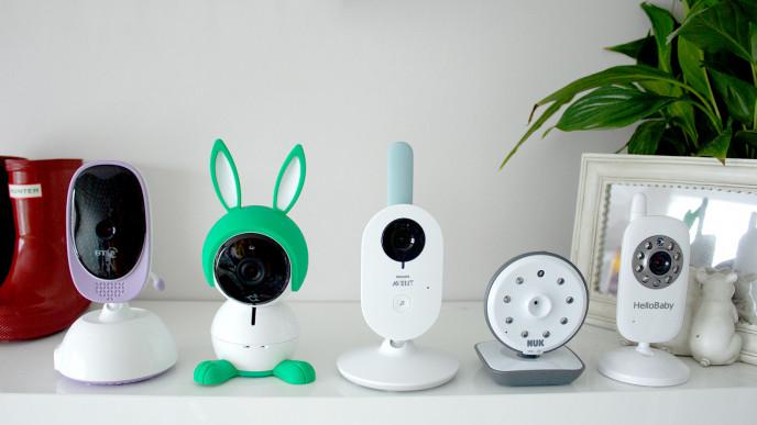 La foto di alcuni baby monitor