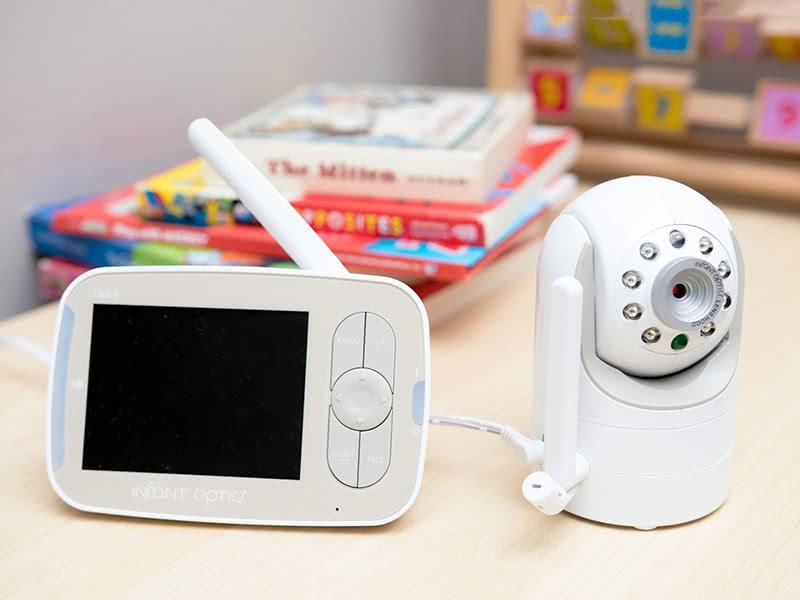 La foto di un baby monitor