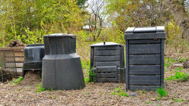 Alcune compostiere