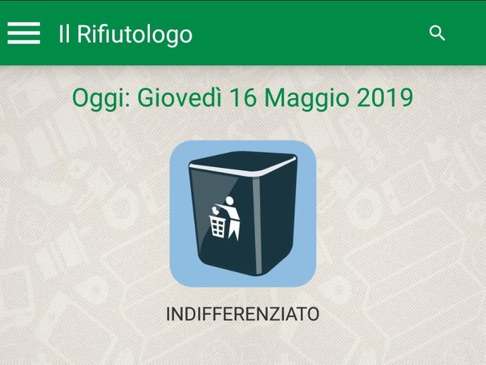 L'applicazione SmartRicicla per Android