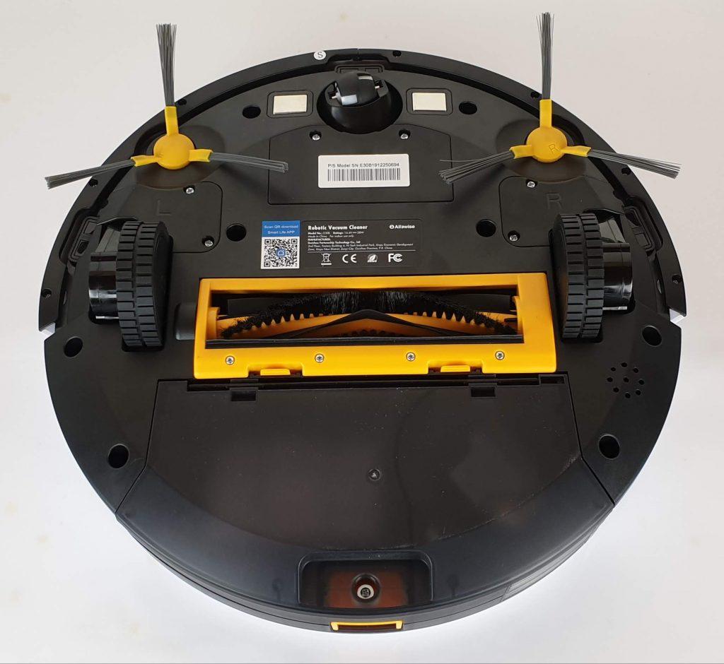 Alfawise V8S PRO E30B - modalità aspirapolvere