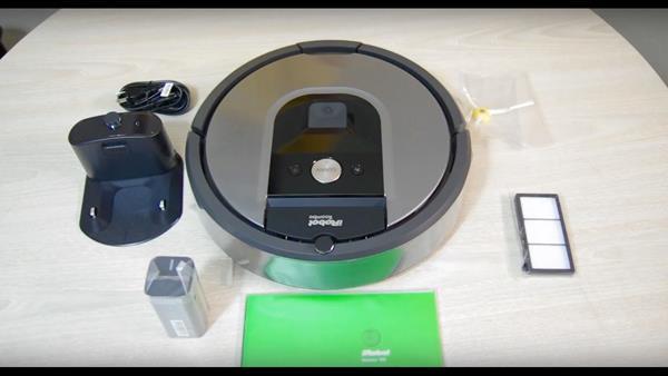 Confezione Roomba 960