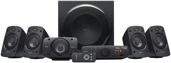 Home Theatre Logitech Stereo 3D Z906 5.1