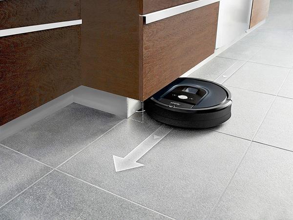 Autonomia Roomba 981