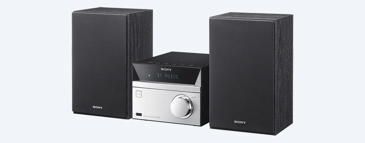 L'impianto Sony CMT-SBT20
