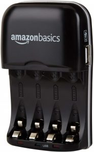 Caricabatterie AmazonBasics