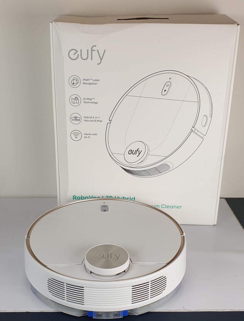 Recensione Eufy RoboVac L70 Hybrid - confezione