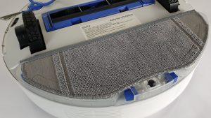 Recensione Eufy RoboVac L70 Hybrid - dettaglio del mocio per lavare