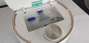 Recensione Eufy RoboVac L70 Hybrid - serbatoio acqua e polvere