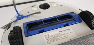 Recensione Eufy RoboVac L70 Hybrid - spazzola rotante raccogli polvere