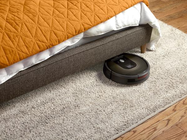 Design e dimensioni robot Roomba