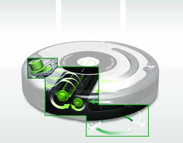 Funzionamento robot Roomba