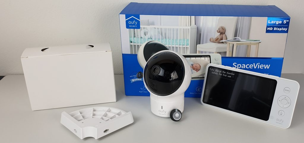 Baby monitor Eufy - confezione
