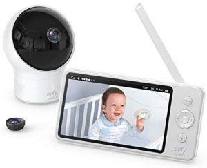 recensione Baby monitor Eufy con monitor