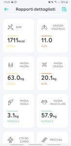 recensione eufy Smart Scale P1 - app eufylife - 2