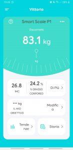 recensione eufy Smart Scale P1 - app eufylife - home