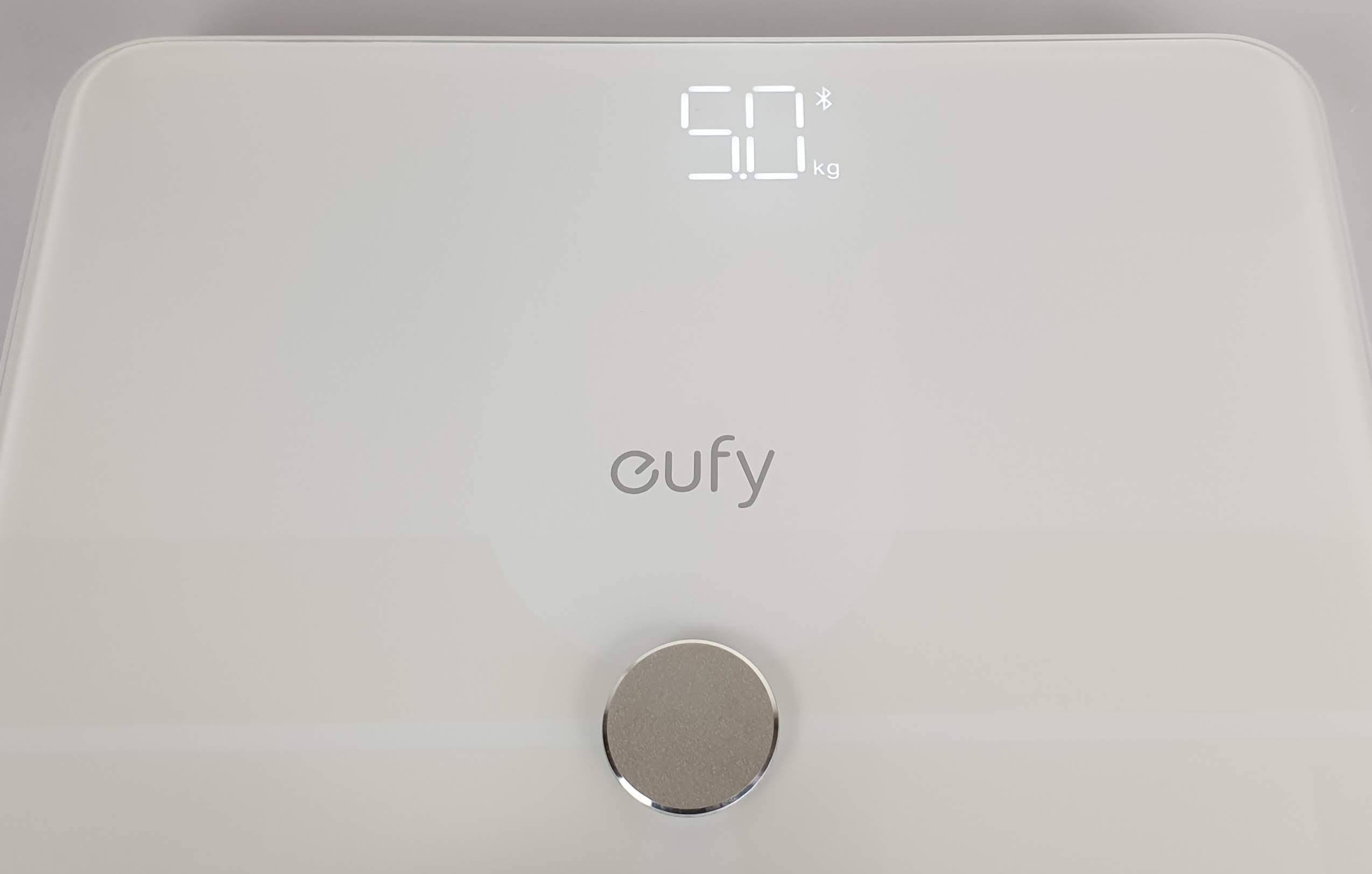 recensione eufy Smart Scale P1 - display