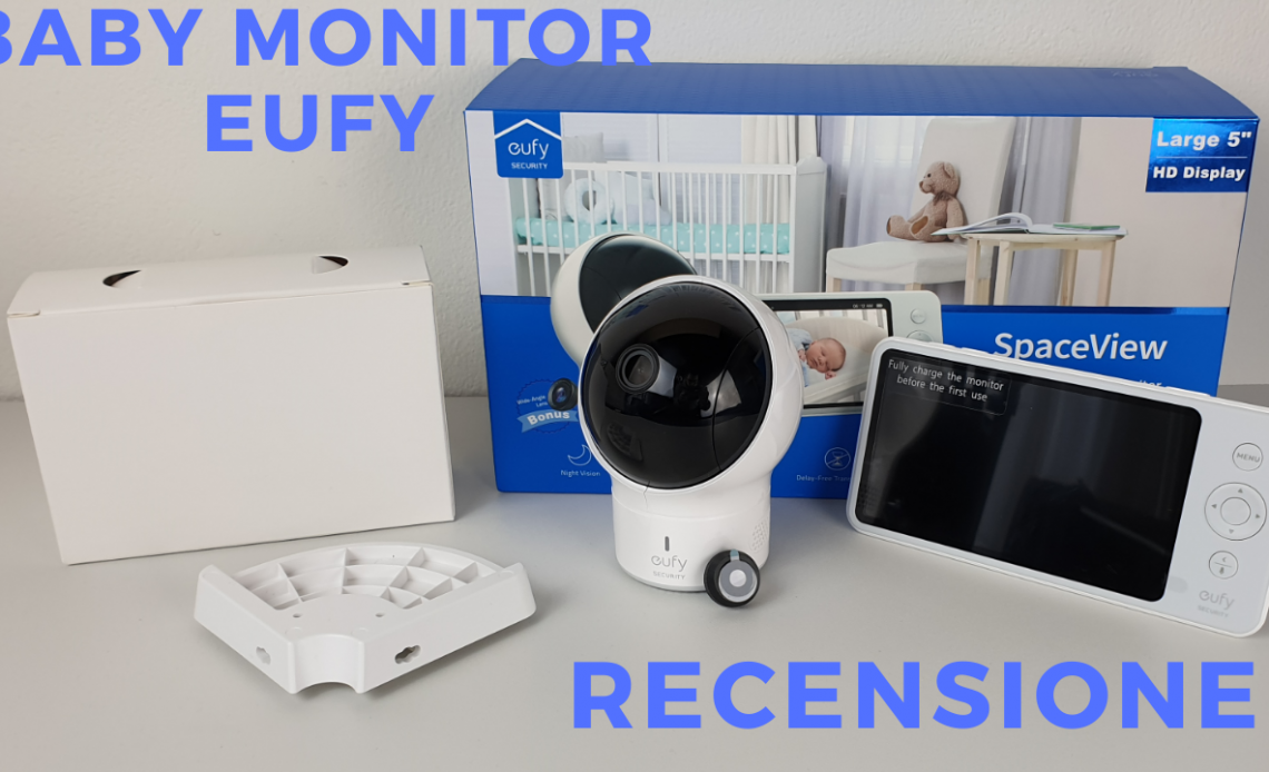 recensione eufy baby monitor