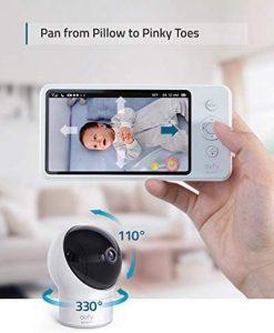 videocamera Baby monitor Eufy con monitor