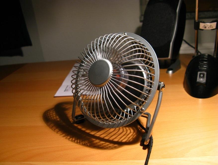 ventilatore da scrivania