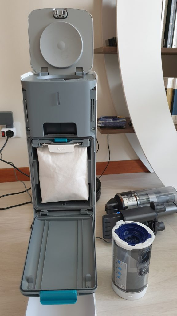 samsung clean station - componentistica interna
