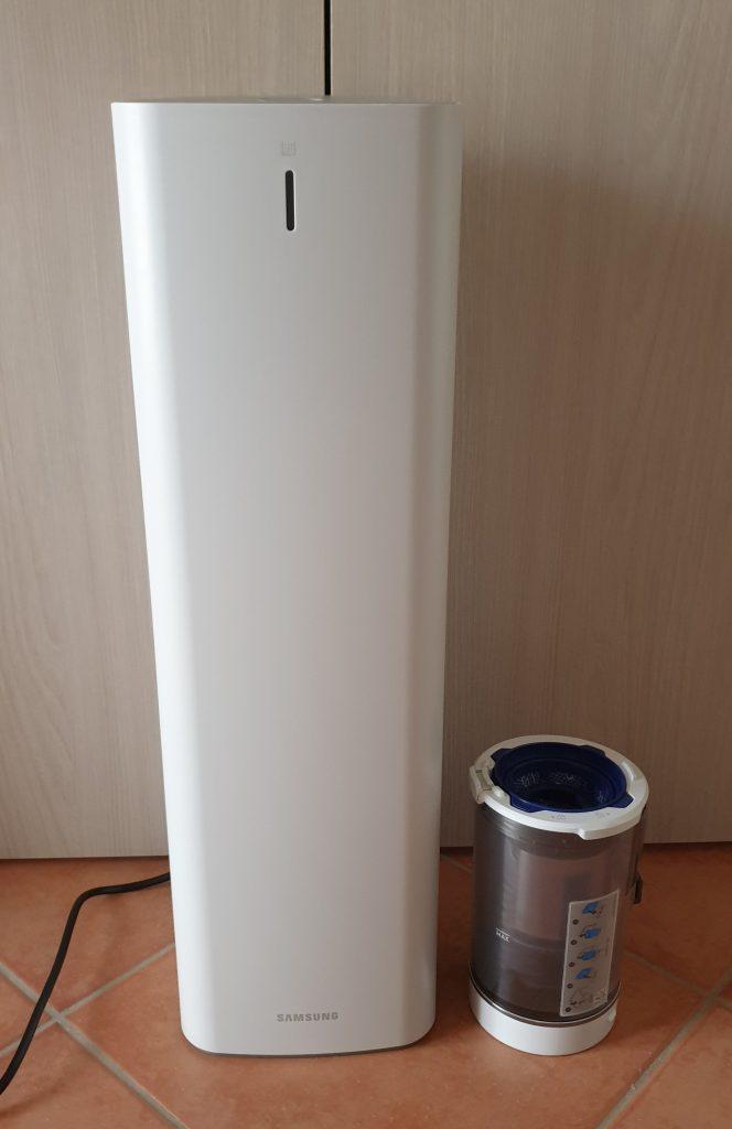 samsung clean station con serbatoio aggiuntivo