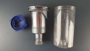 samsung jet 75 premium - serbatoio e filtro hepa