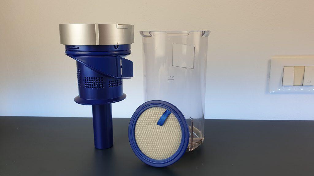 eufy homevac s11 go - serbatoio e motore ciclonico