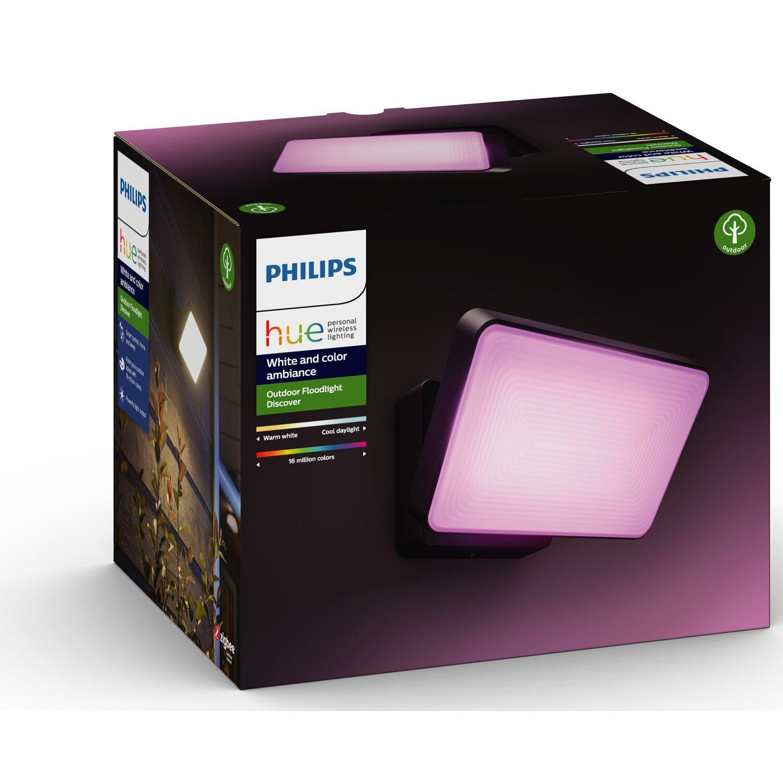 Il faretto esterno Philips Hue White and Color Ambiance Discover
