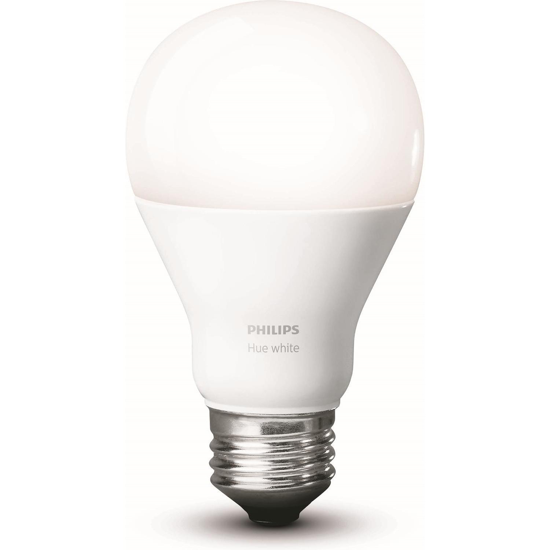 Una lampadina smart totalmente bianca