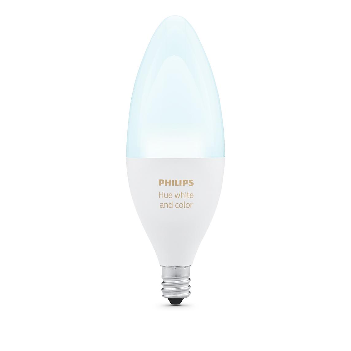 La lampadina Candela Philips Hue E12
