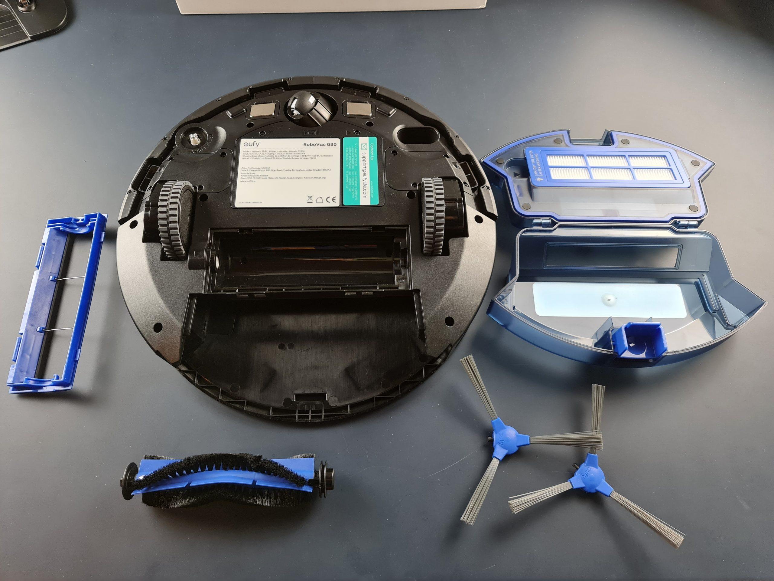 eufy robovac g30 componenti