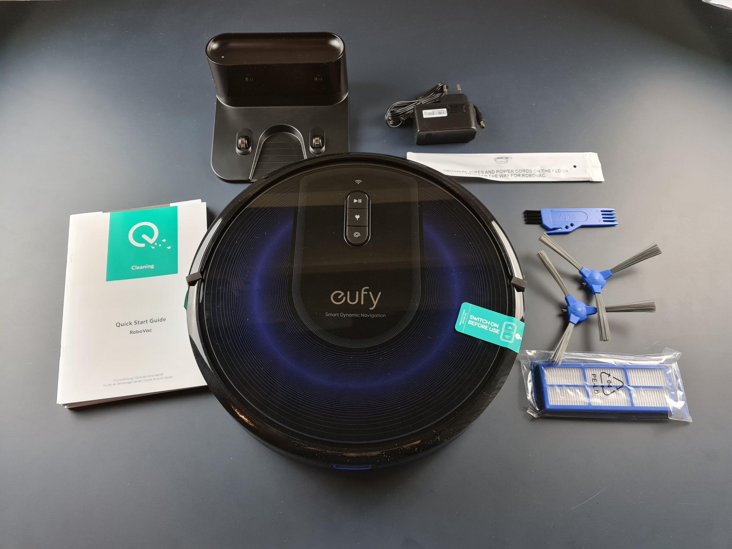 eufy robovac g30 - dotazione accessori
