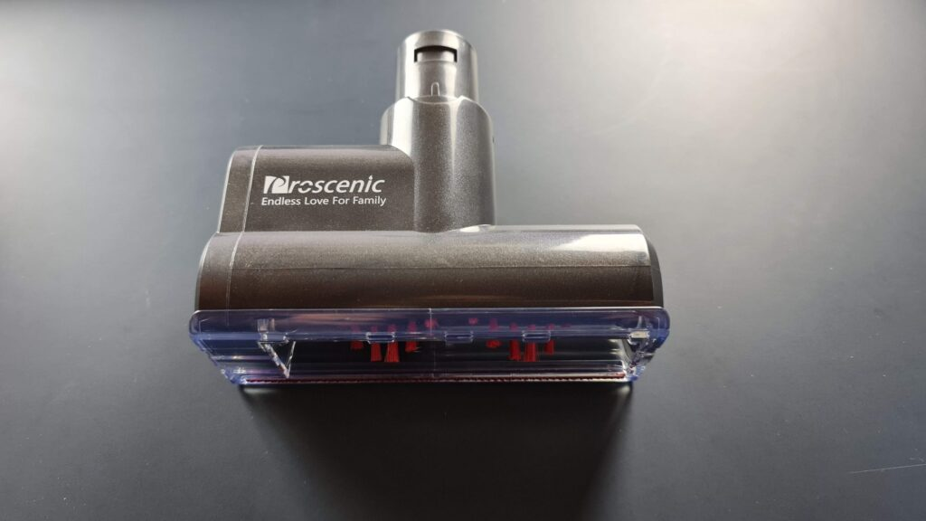 Recensione Proscenic P11 - spazzola imbottiti
