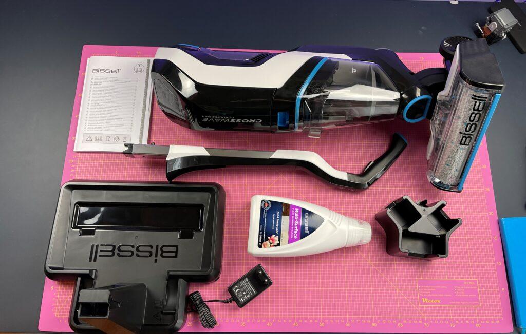 Bissell CrossWave Cordless Max - dotazione accessori