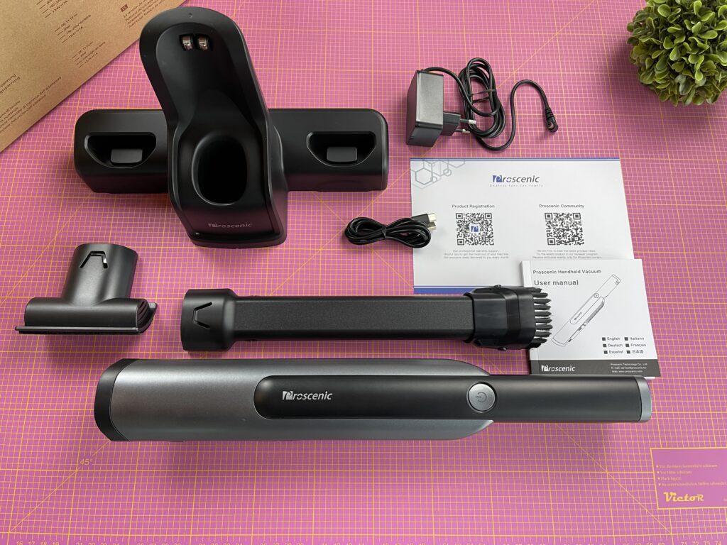 Proscenic S1 - confezione ed accessori
